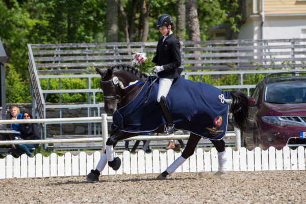 @ Baltic Dressage League Estonia, 12.06.2016. © Author: Kylli Tedre / www.kyllitedre.com